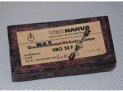 Ртутная лампа высокого давления HBO 50 F VEB NARVA