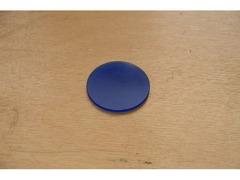Светофильтр синий матовый (СС) без оправы