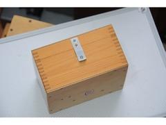 Деревянный укладочный ящик для объективов и окуляров