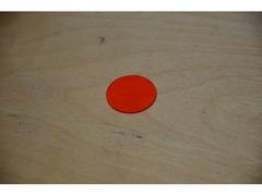 Оранжевый светофильтр ОС12 без оправы