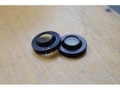 Светофильтр окулярный ЖС3 (4 мм) в оправе - 2 шт.