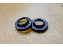 Светофильтр окулярный ЖС18-0,5 в оправе 2 шт.