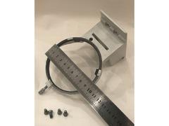 Кронштейн крепления предметного столика (новый) от микроскопа МИКМЕД 2 вар.11 (РПО-11)