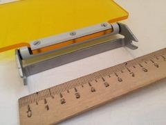 Защитное стекло желтого цвета из комплекта микроскопа микмед 2 вар.11 (РПО11)