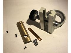 Кронштейн конденсора в комплекте с обратной планкой и зубчатой рейкой регулировки положения креплени