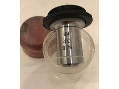 Объектив ахромат 40х0.75 ОМ-23Л люминесцентный (водная иммерсия)