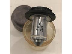 Объектив 60х1.0 ОАВ-60Л (АПО-ВИ) люминисцентный (водная иммерсия)