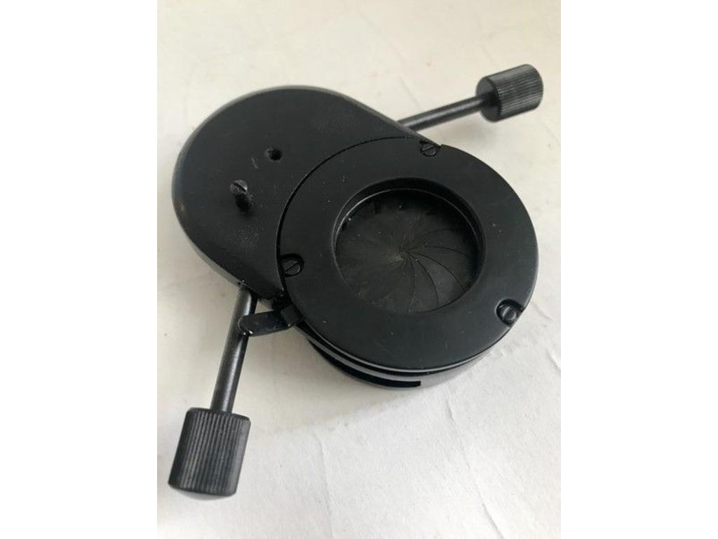 часть конденсора КФ-4 со встроенной диафрагмой, элемент крепления линзы, диска - 4/5