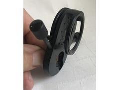 часть конденсора КФ-4 со встроенной диафрагмой, элемент крепления линзы, диска - Изображение 5/5