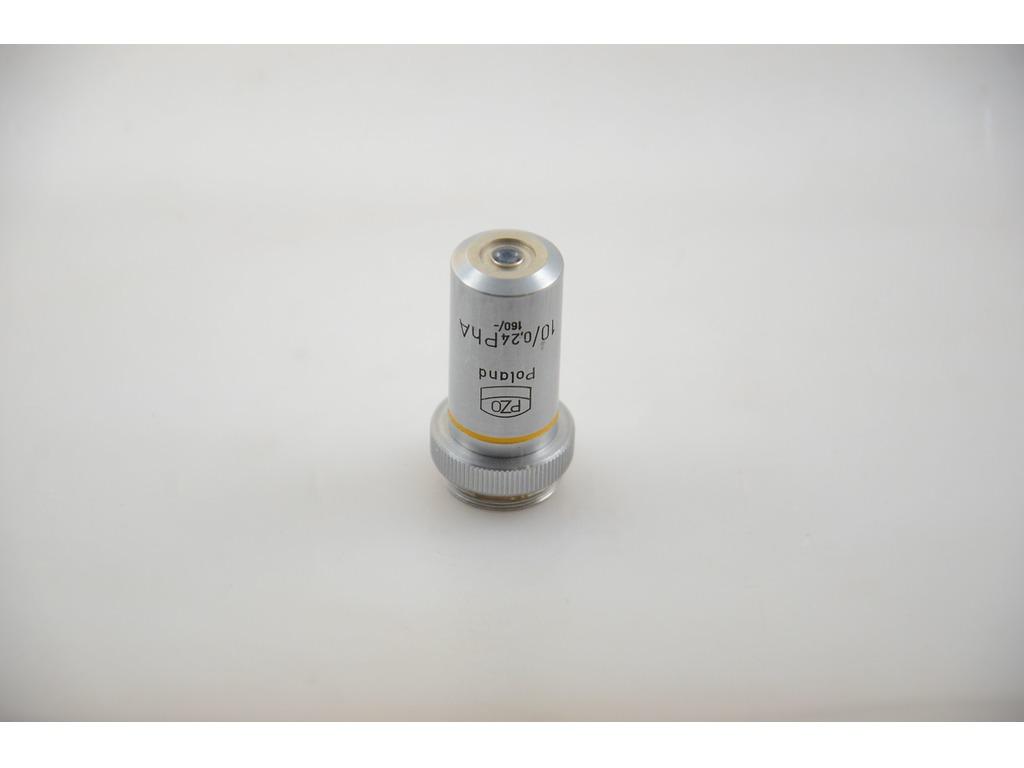 Фазовый объектив PhA 10x/0.24, 160/- для микроскопа PZO - 1/4