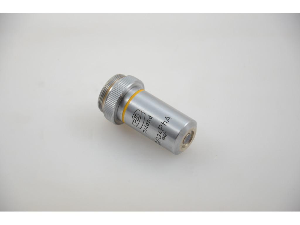 Фазовый объектив PhA 10x/0.24, 160/- для микроскопа PZO - 3/4