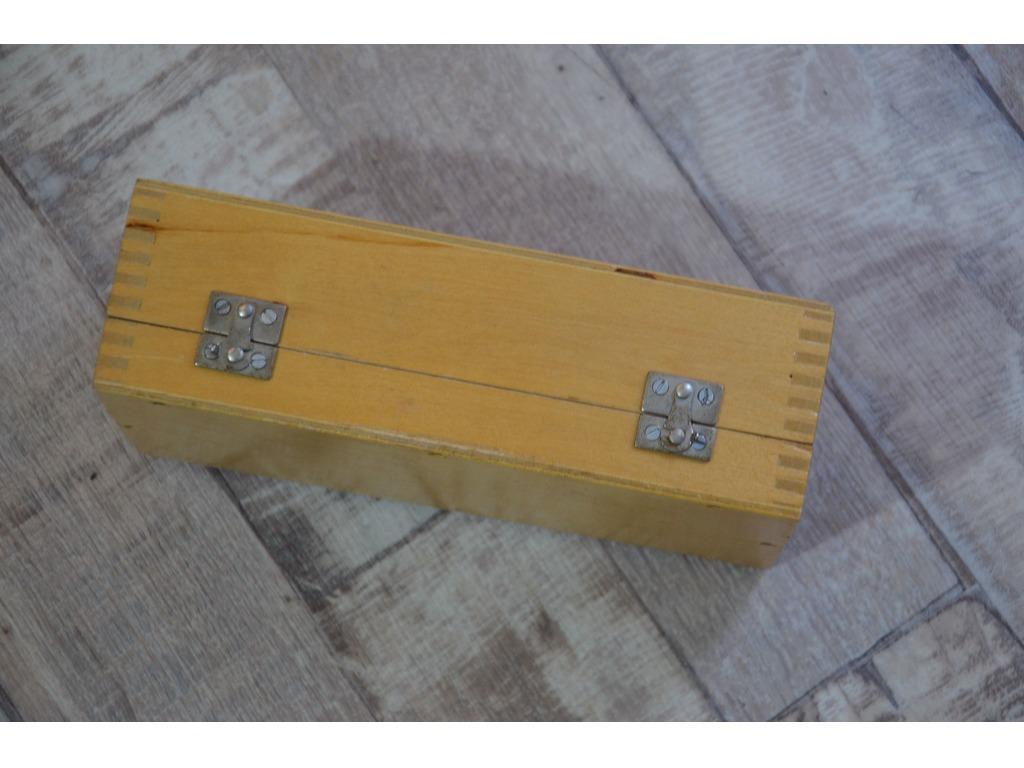 Деревянный укладочный ящик для микроскопа МИР-2 - 4/4