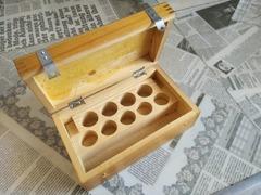Укладочный ящик для окуляров и объективов микроскопа