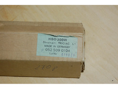 Лампа Osram HBO-200W для осветителя микроскопа